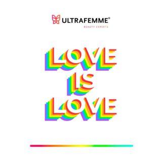Respeto, amor, apoyo y libertad🌈💜 En honor al mes del orgullo, en Ultrafemme estamos orgullosos de apoyar a la comunidad #LGBTQ 🌟   #pride #orgullo #LGBTQ #LoveIsLove #LoveWins