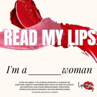 Tus labios tienen el poder de expresar todo lo que sientes y piensas. Úsalos para demostrarle al mundo lo poderos@ que eres y completa la frase en los comentarios.   Te regalamos el lipstick de tu elección* en la compra de $2,500 MXN.   *promoción válida en marcas seleccionadas del 28 de Julio al 1 de Agosto 2021 en todas las Boutiques Ultrafemme.  #READMYLIPS   #internationallipstickday #lipstick #lips #makeuplover