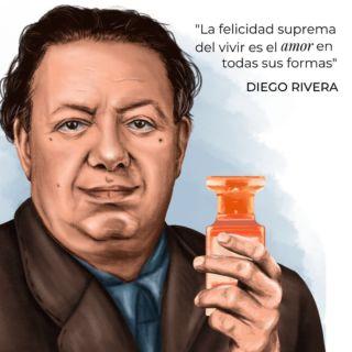 A pocos días de terminar el mes patrio, hoy hacemos homenaje a Diego Rivera. Uno de los grandes artistas y muralistas mexicanos que cambiaron el rumbo del arte en México.   ¡Viva México! 🇲🇽  Arte por @grangosy_art   #Ultrafemme #DiegoRivera #VivaMexico #15Septiembre #BesameMucho